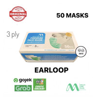 Masker Multi One Plus Earloop isi 50 pcs