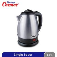 Cosmos Kettle Listrik - CTL-618 - CTL618 - Silver