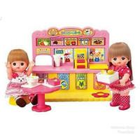 Rumah Restoran Boneka Mell Chan Food Court Doll