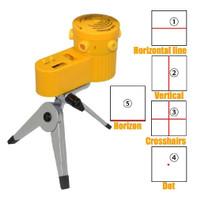Laser Leveler Siku Laser Waterpass Kaki Tripod Siku Tukang Laser Level - Hitam Tripod