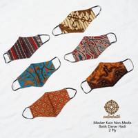 Masker Kain (Non Medis) Batik Danar Hadi Solo