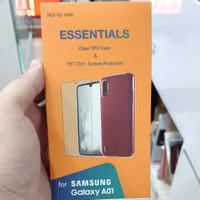 sarung dan Anti gores original Samsung a01