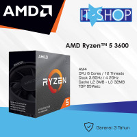Processor AMD AM4 Ryzen 5 3600 Box Wraith Cooler