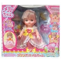 Boneka Mell Chan Princess Deluxe Long Hair Color Change Mellchan Doll