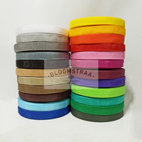 Roll PCR 22mm Tali Pelipit Polyester 2,2cm Bisban Bungkus Poly