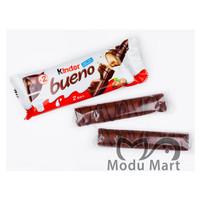 KINDER BUENO Chocolate Hazelnut Wafer Stick 40g - Cokelat Susu Hazel