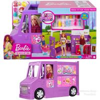 Mobil Boneka Barbie Mattel Food Truck Restoran Berjalan Cafe