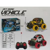 Mainan Mobil Remote Kontrol Jeep Off Road - RC Remot Jeep Mini Lampu