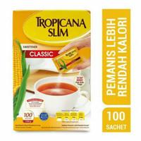 tripicana slim clasic 100pcs / gula rendah kalori