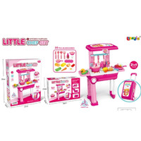 Kado Mainan Anak Perempuan Little Chef Kitchen Set 2 in 1
