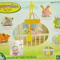 ELC musical COT mobile blossom farm elc gantungan bayi