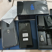 Samsung Galaxy S9 Plus Gold SEIN 128GB dan 256GB Fullset Like New Ori