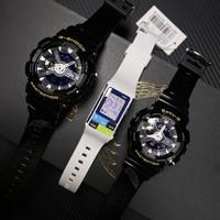 jam tangan couple G shock SLV 18A 1ADR Limited, free jam casio poptone