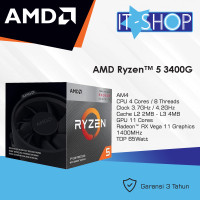 Processor AMD AM4 Ryzen 5 3400G Box Wraith Cooler