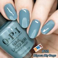 Kutek OPI / Nail Polish / OPI Alpaca My Bags / OPI P33 / OPI Lacquer