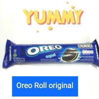 Oreo biskuit vanila roll 133 gram 133 g 133gr 133g 133gram 133 gr