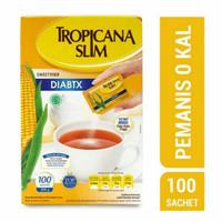 tropicana slim diabtx 100pcs / gula rendah kalori