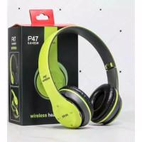 Headphone Bando ORI P-47 Bluetooth Wireless kwalitas Bagus
