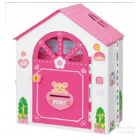 Rumah Boneka Portable Mell Chan Design Bear Doll