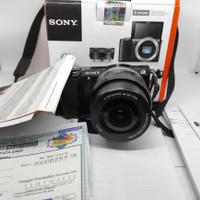 Kamera Mirrorless Sony alpha a5000 kit not a5100 a6000 a6100 canon
