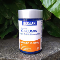 Bioglan Clinical Curcumin 60 tablet ( Turmeric 15,800mg)