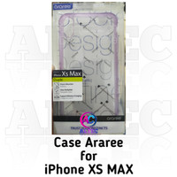 Case Araree for iPhone Xs Max Duple Purple