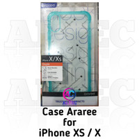 Case Araree for iPhone Xs / X Duple Blue Coral