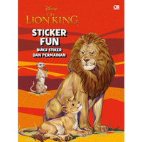 Disney The Lion King Sticker Fun. Buku Sticker Anak dan Permainan