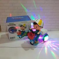 Mainan Sepeda Akrobat Bicycle Dancing Cewek Cowok / Sepeda Menari 03