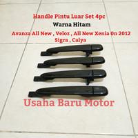 Handle Pintu Luar Set 4pc All New Avanza , Xenia , Veloz ,Sigra ,Calya
