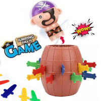 MAINAN JUMPING PIRATES GAME ANAK PIRATE BARREL ROULETTE - FAMILY GAMES