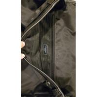 ORIGINAL PRADA Tessuto Saffiano Shoulder Bag Nero Tas Pria Elegan