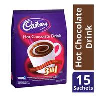 Cadbury Hot Chocolate Minuman Cokelat - 15 Sachet x 30 gr