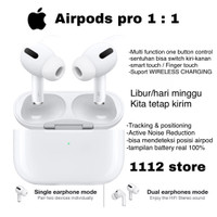 Airpods Pro - Airpods Gen 3 - support wireless charging - OEM