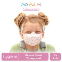 Momami Comfi Face Glasses Shield - Clear (Face Shield Anak)