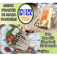 Sate Lilit Ikan asli Bali halal (ikan laut) frozen/beku