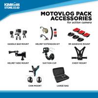 Motovlog Accessories Pack Action Camera GoPro, SJ CAM, BPRO, Xiaomi Y - Motovlog Pack