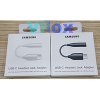 converter adapter audio type c to jack 3.5mm samsung a80 s note 10 20