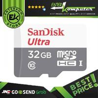 Sandisk MicroSD Ultra 100MB/S 32GB Class 10 UHS-1 - SDSQUNR-032G