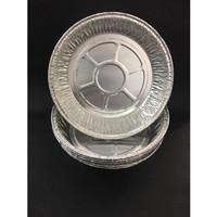 ALUMINIUM MODEL BULAT RX-1425- WADAH ALUMINIUM FOIL BULAT RX 1425