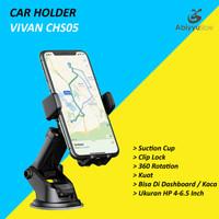 Vivan CHS05 Car Holder Mobil Universal 360 Rotate For HP Smartphone