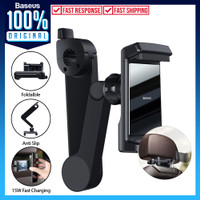 Back Seat Car Holder Baseus Storage Hp Phone Mobil Wireless Charger