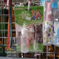 Botol Susu hewan + dot + sikat (pet nursery kit)