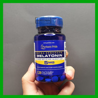Puritan Pride Melatonin 5 mg 120 tablet Timed Release Puritans 5mg