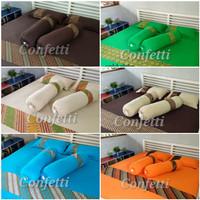 Confetti sprei kaos premium (motif heritage/batik) sz 90/100x200