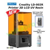 Creality LD002R / LD-002R Printer 3D LCD Bahan UV Resin