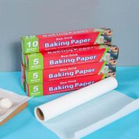 kertas panggang baking paper 5 / 10 meter krm007