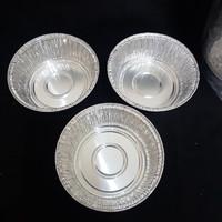 ALUMINIUM MODEL CUP BULAT RX-1230 - WADAH ALUMINIUM FOIL CUP RX 1230