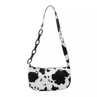 Cow bags tas selempang motif sapi handbag wanita tas rantai kekinian