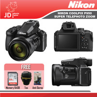 Nikon Coolpix P950 Super Telephoto Zoom Digital Camera Paket